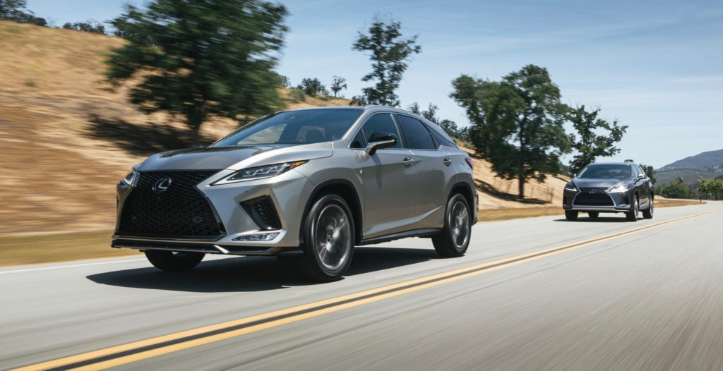 2020 lexus rx gets a facelift and android auto   the