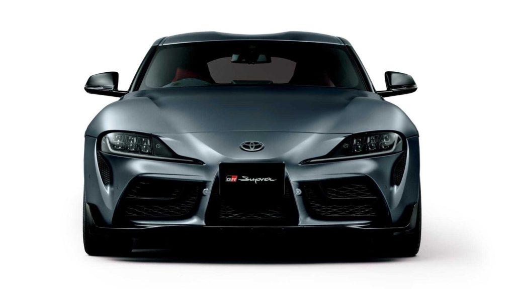 2020 Toyota Supra Matte Storm Gray Metallic