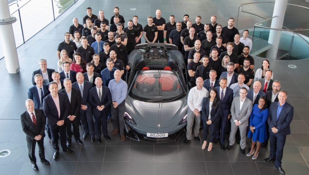 McLaren 20,000th car