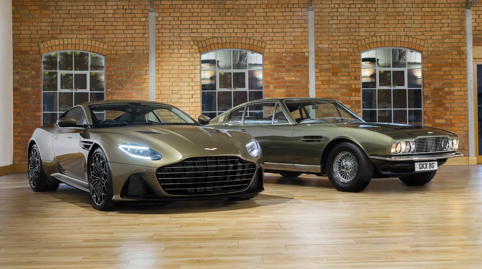 Aston Martin Dbs Superleggera Celebrates James Bond The Torque Report