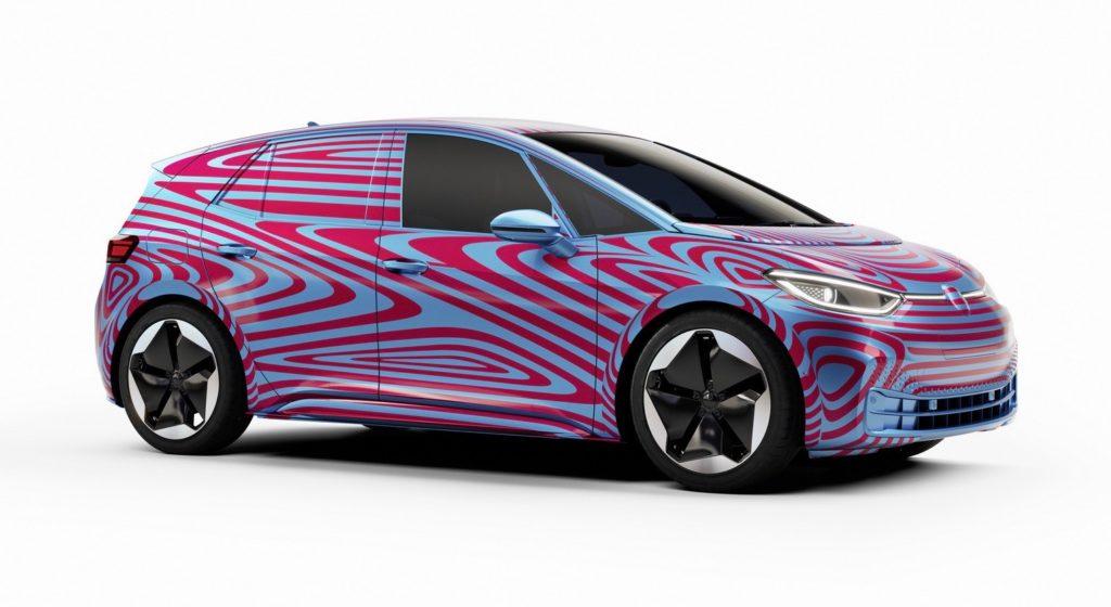 VW I.D. 3 Teaser