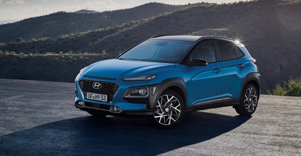 hyundai kona hybrid debuts in europe the torque report. Black Bedroom Furniture Sets. Home Design Ideas