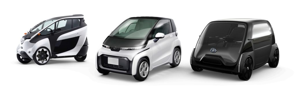 Toyota BEV models