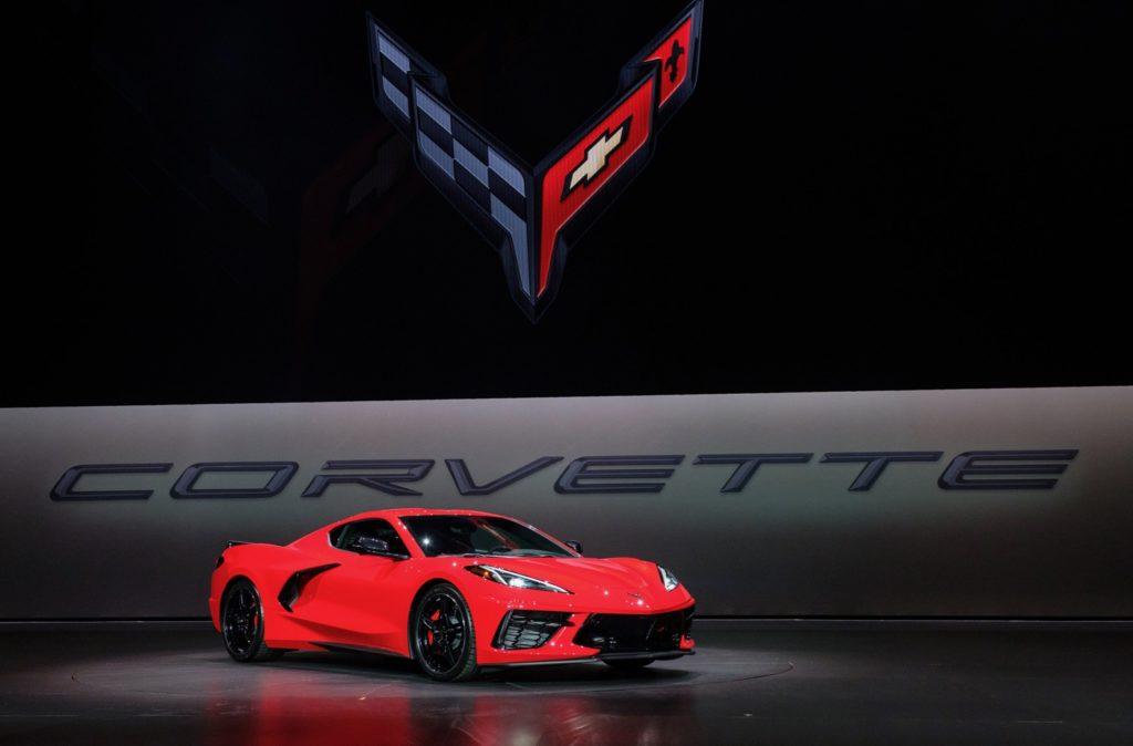 2020 Chevy Corvette Stingray debuts with 495-hp and starts ...
