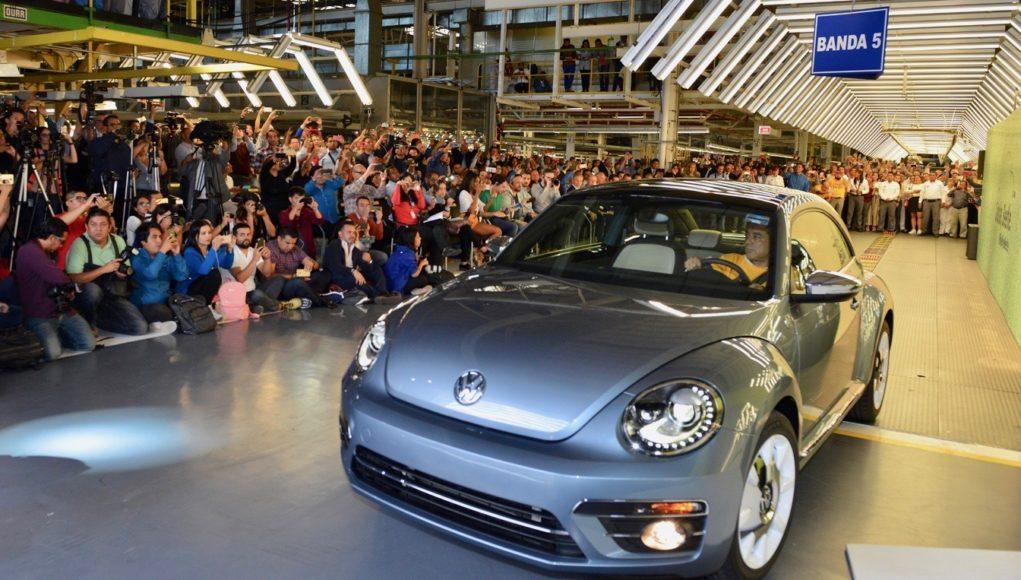 Final VW Beetle