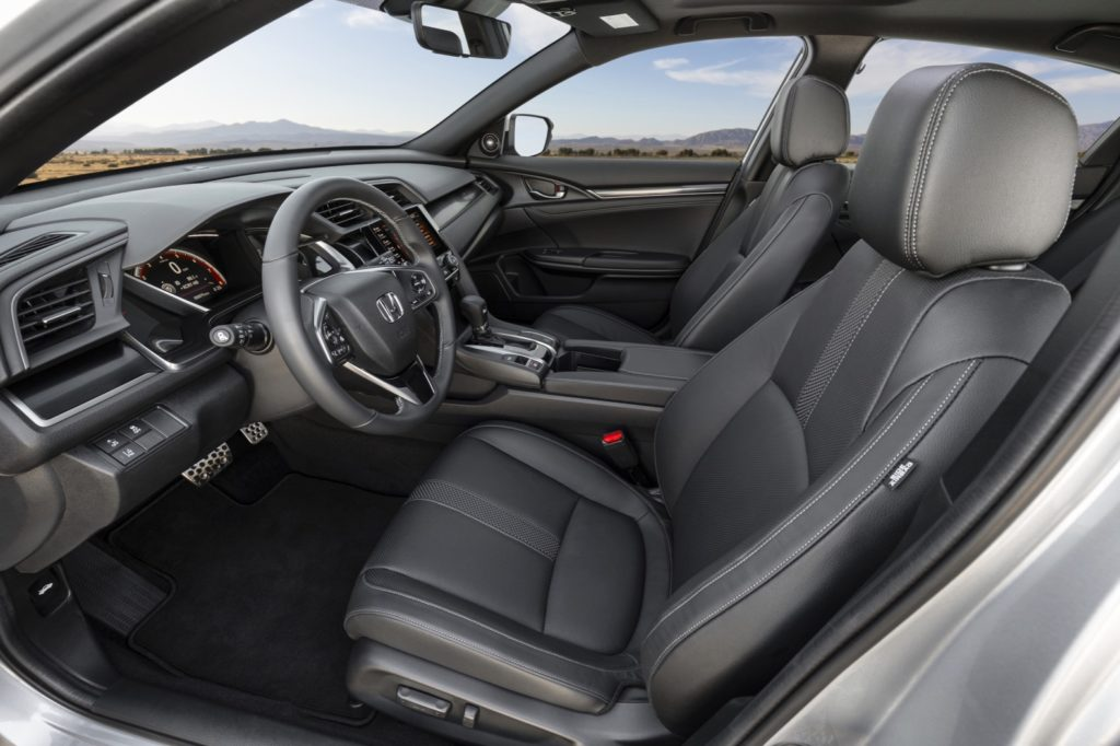 honda civic hatchback   styling updates  torque report