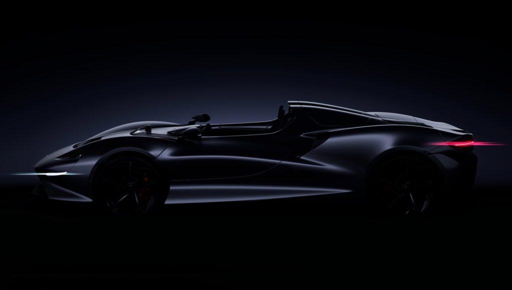 McLaren Roadster teaser