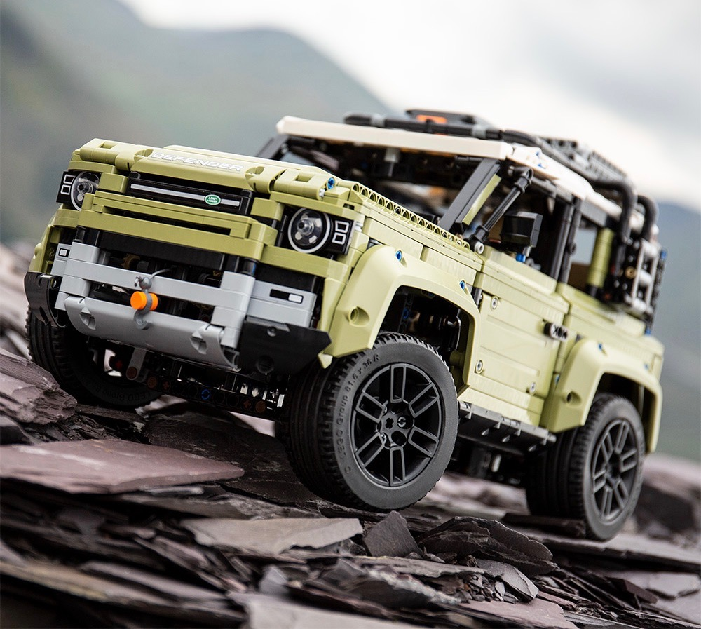 2020 Land Rover Defender: 2020 Land Rover Defender Lego Technic Is Awesome