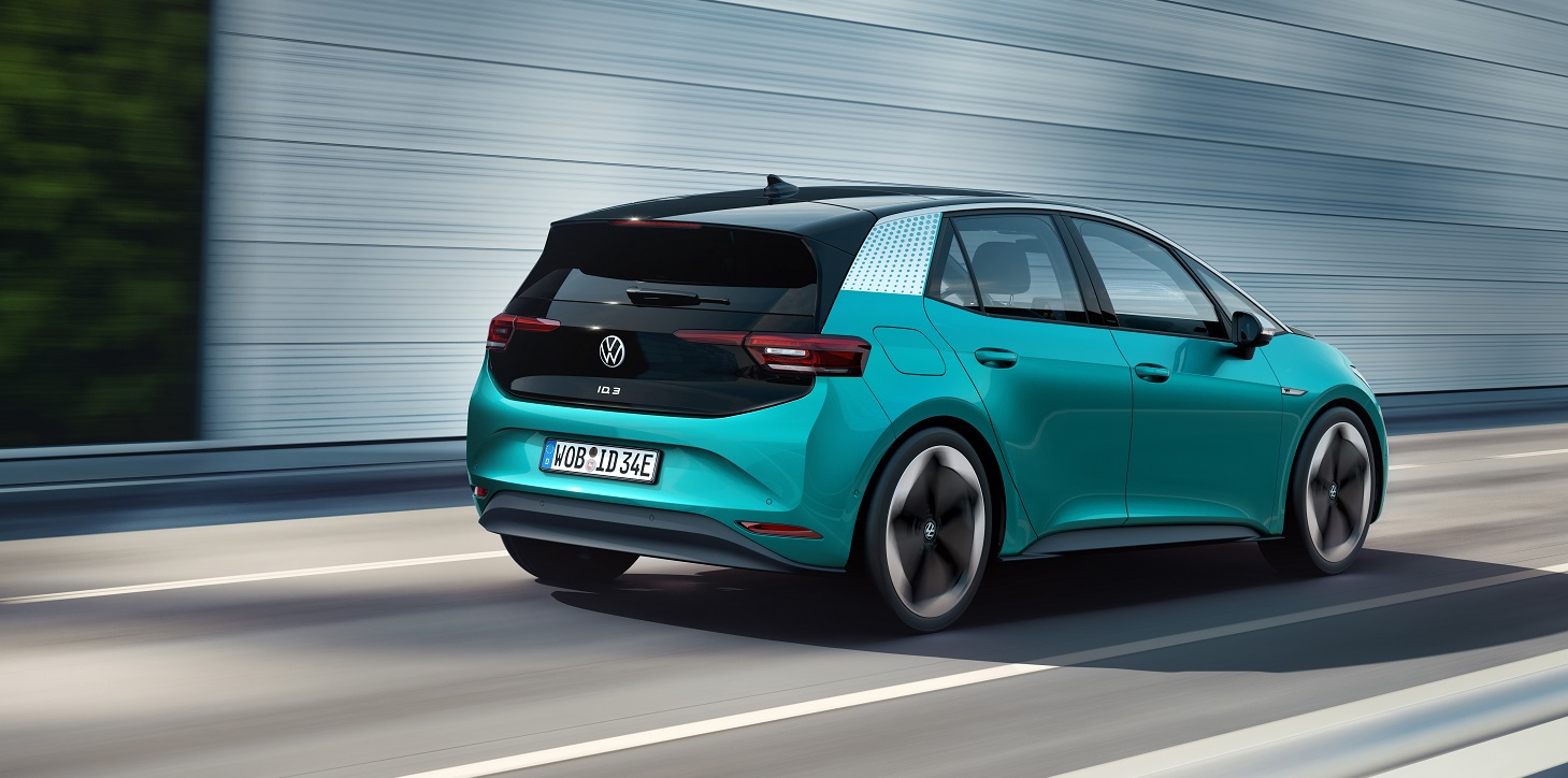 Volkswagen ID.3 Electric Car Debuts With A 342-mile