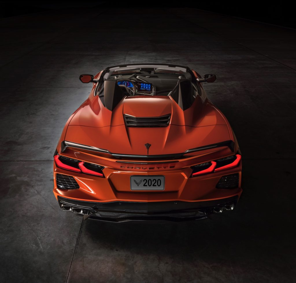 2020 Chevy Corvette Stingray Convertible debuts with a ...
