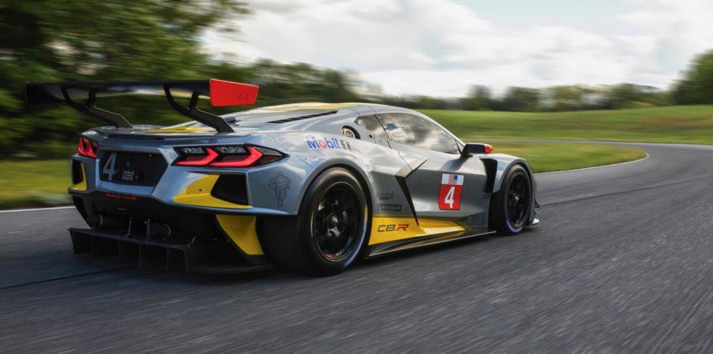 2020 Chevy Corvette C8.R race car has a surprise debut ...