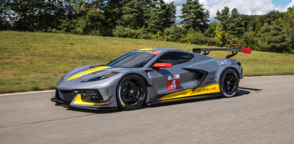 2020 Chevy Corvette C8 R Race Car Has A Surprise Debut