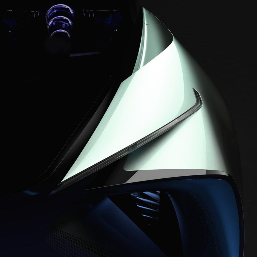 Lexus electric concept car teaser