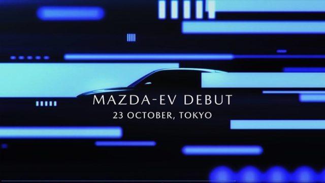 Mazda electric car teaser