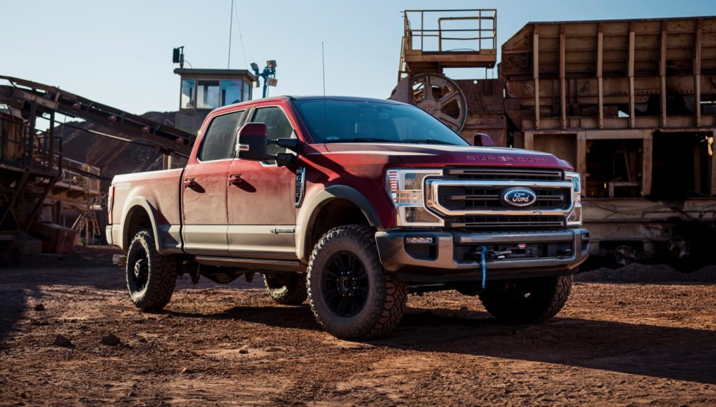 Ford F-Series Super Duty Tremor Package
