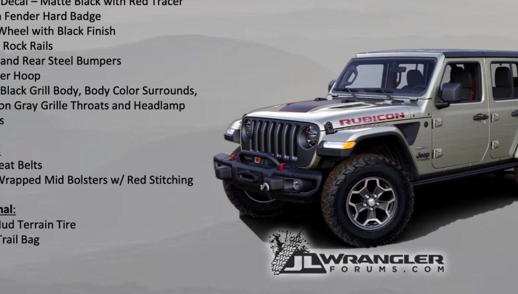2020 Jeep Wrangler Rubicon Recon Edition