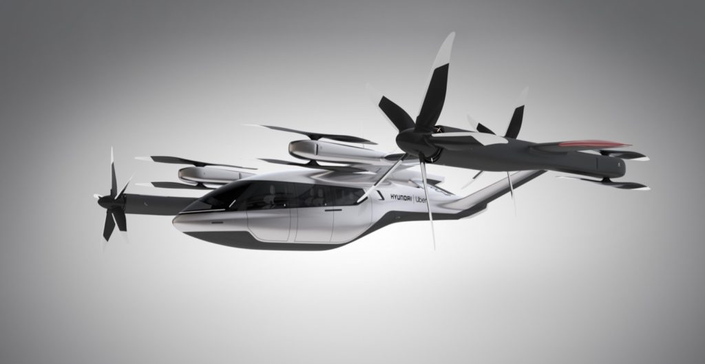 Hyundai Uber Air Taxis