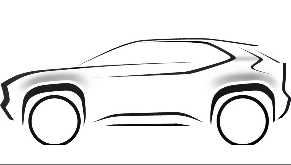 Toyota Compact SUV Teaser