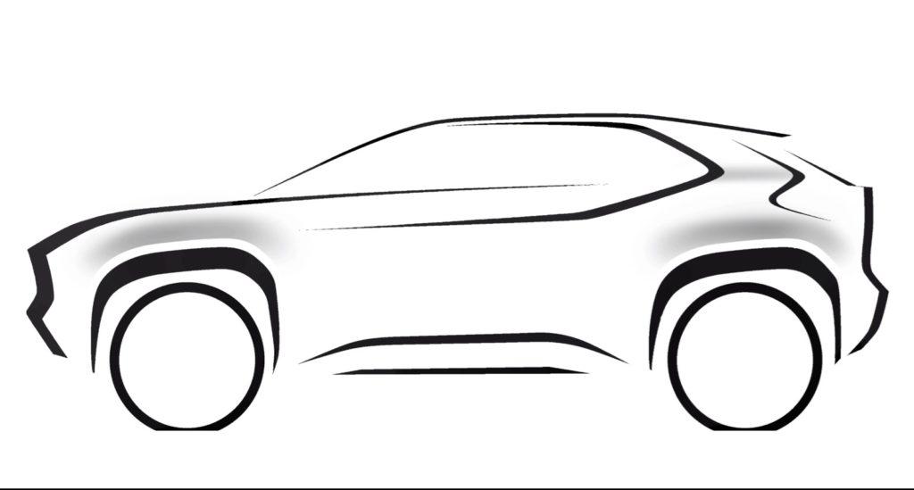 Toyota Compact SUV Teaser