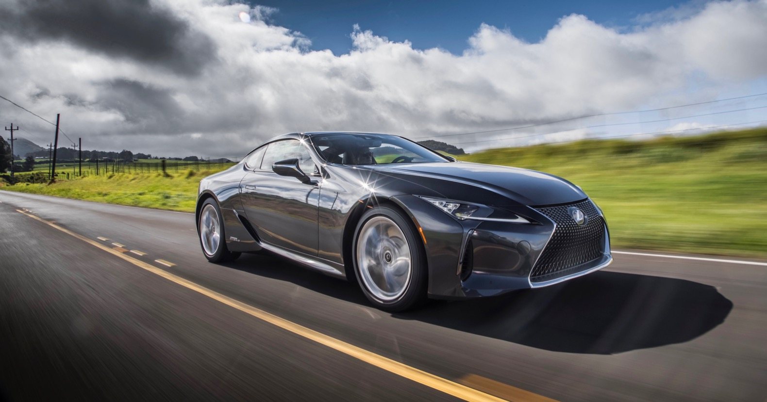 2020 lexus lc 500h review: a sporty and sexy hybrid   the