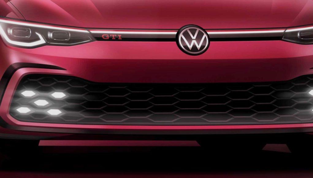 2021 VW Golf GTI Teaser