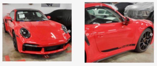 2021 Porsche 911 Turbo S Leak
