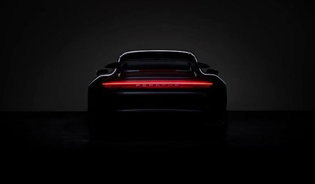 Porsche 911 Turbo Teaser