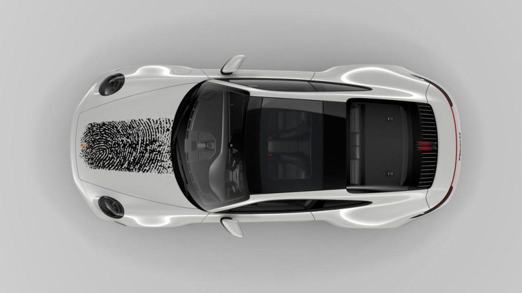Porsche 911 with Fingerprint