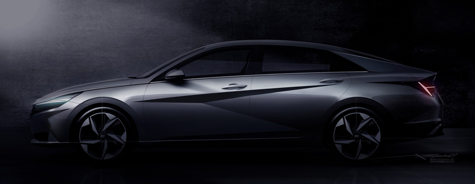 2021 hyundai elantra teased ahead of its debut on march 17