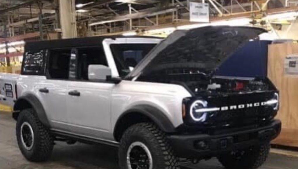 2021 Ford Bronco Leak