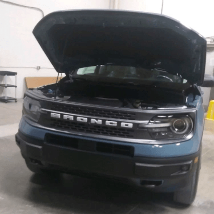 2021 Ford Bronco Sport Leak