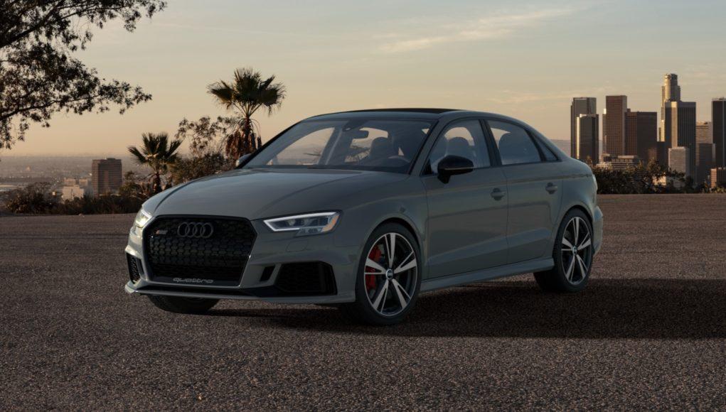 2020 Audi RS3 Nardo Edition