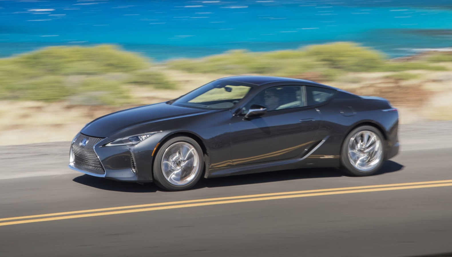 2021 lexus lc loses weight and gets some suspension
