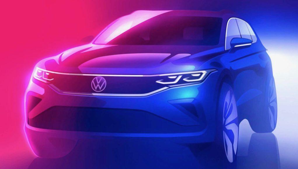 2021 Volkswagen Tiguan Teaser