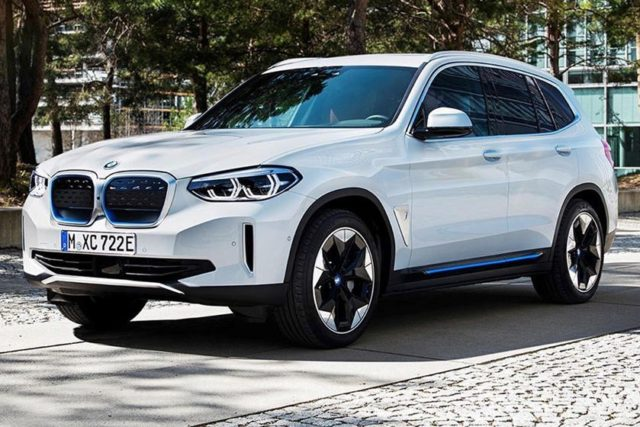 BMW iX3 Leak