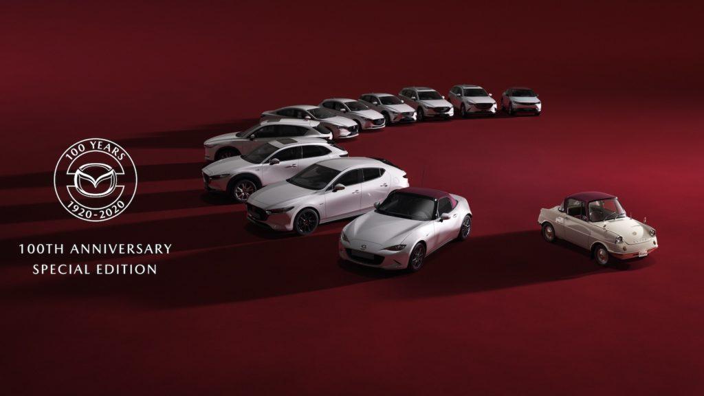 Mazda 100th Anniversary Special Edition models