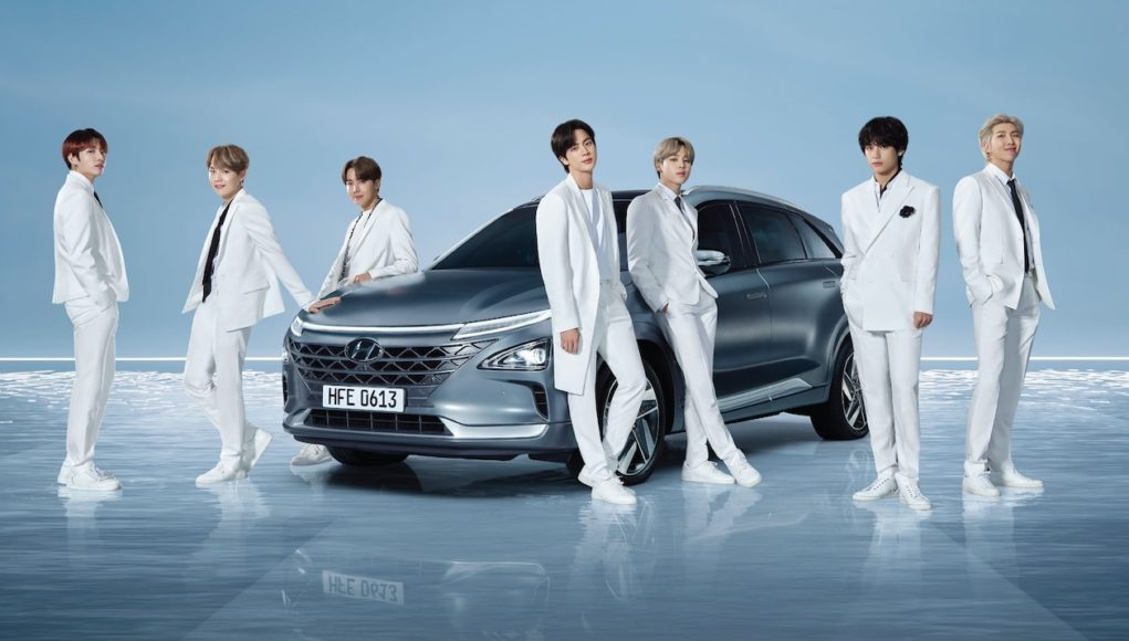 Hyundai and BTS celebrate Earth Day