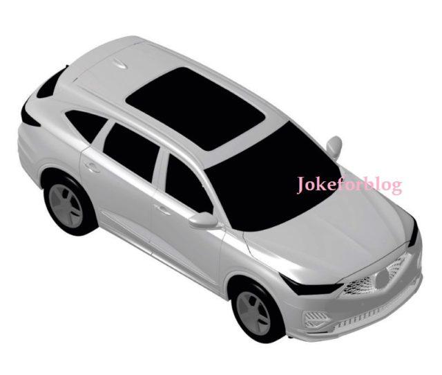 2021 Acura MDX Leaked