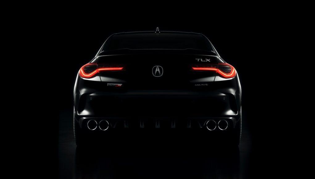 2021 Acura TLX Type S teaser