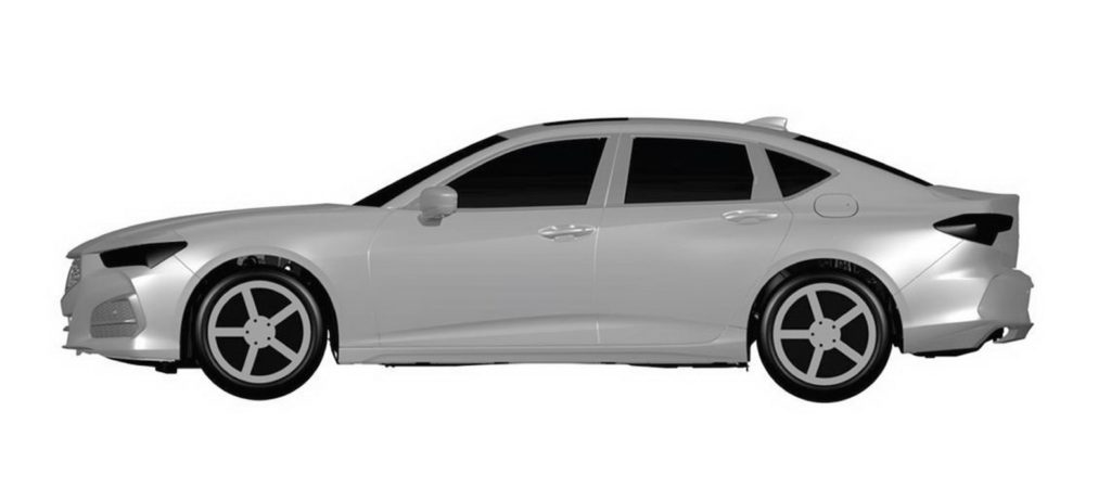 2021 Acura TLX patent images