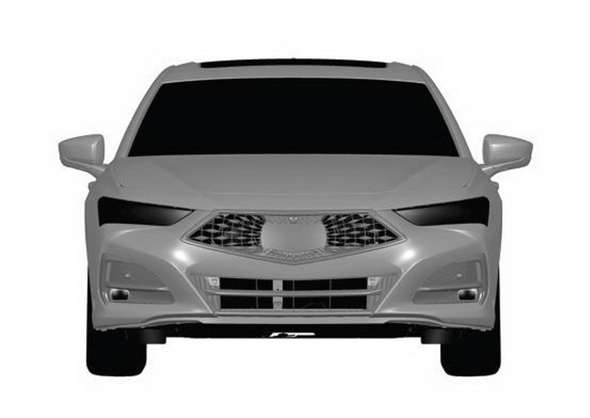 2021 Acura TLX Patent Image