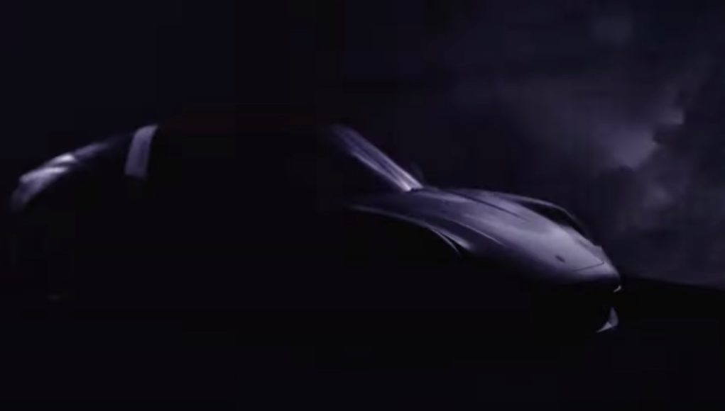 20201 Porsche 911 Targa Teaser