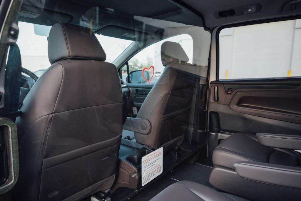 Honda Odyssey coronavirus