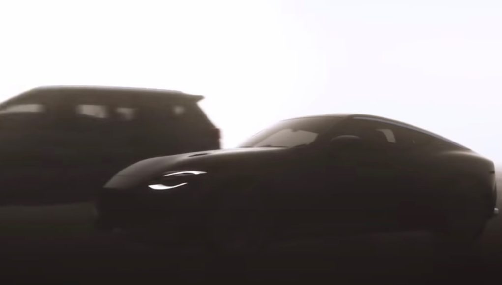 next-generation Nissan Z teaser