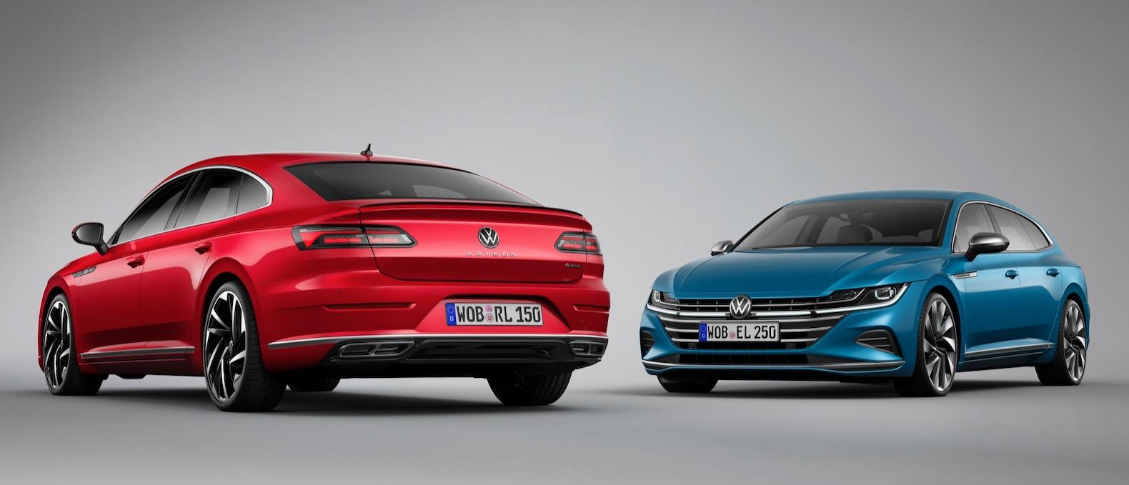 2021 volkswagen arteon gets a facelift  the torque report