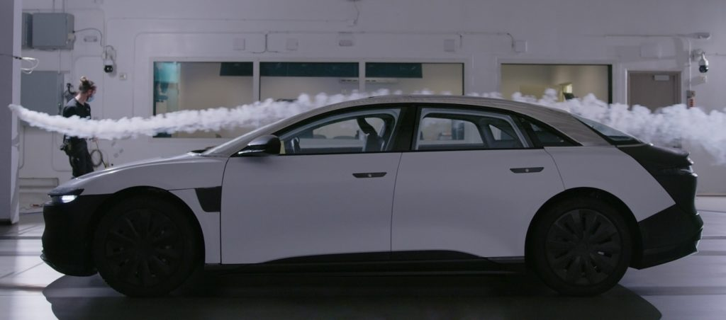 Lucid Air Aerodynamics