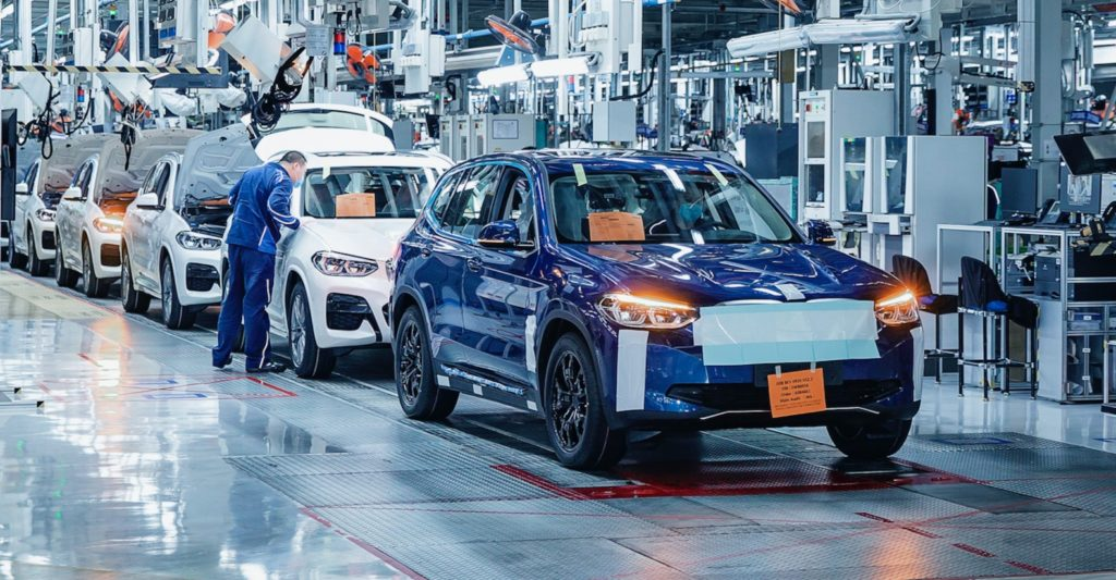BMW iX3 Production