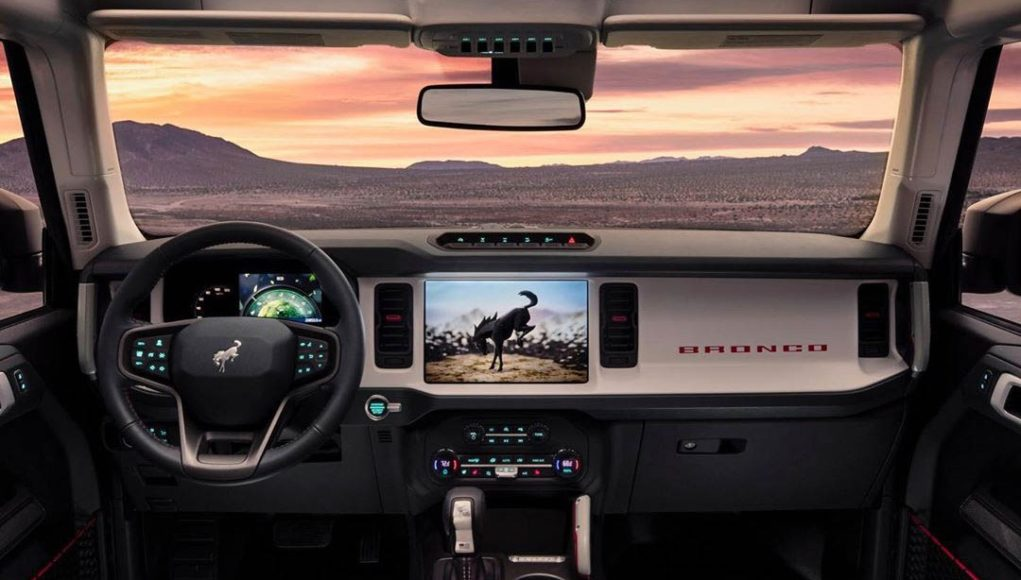 2021 Ford Bronco Interior Leak