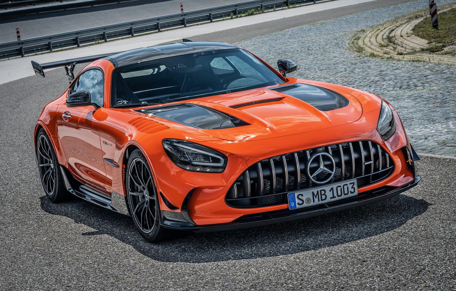 2021 Mercedes-AMG GT Black Series is very pricey | The ...