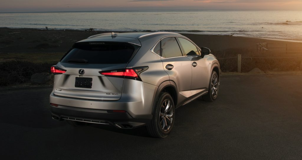 2021 lexus nx gets a few more standard features  the